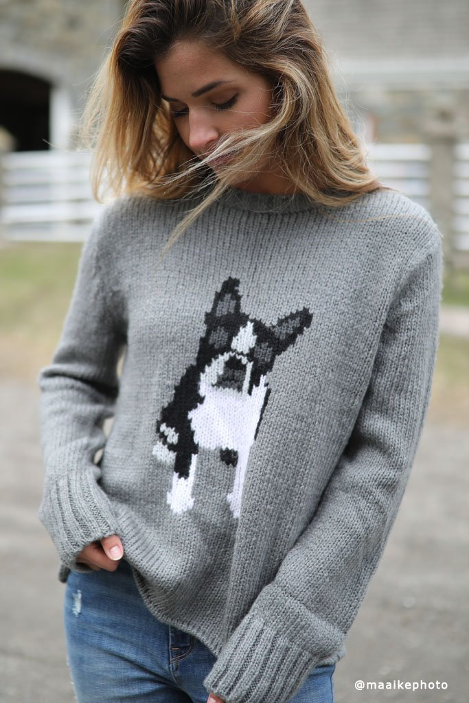 *SALE* Women's Frenchie Pullover Sweater's | Wooden Ships Knits