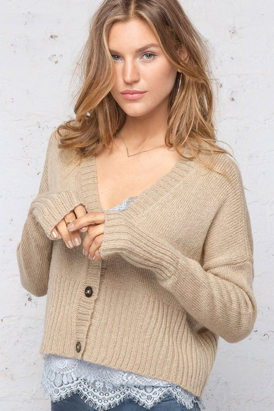 *SALE* Women's 3 Button Cardigan Sweater's | Wooden Ships Knits