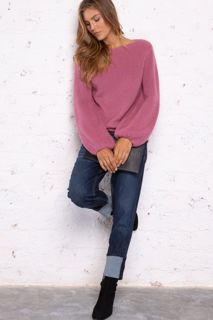 Women's Camilla Bateau Lightweight Sweater | Wooden Ships Knits