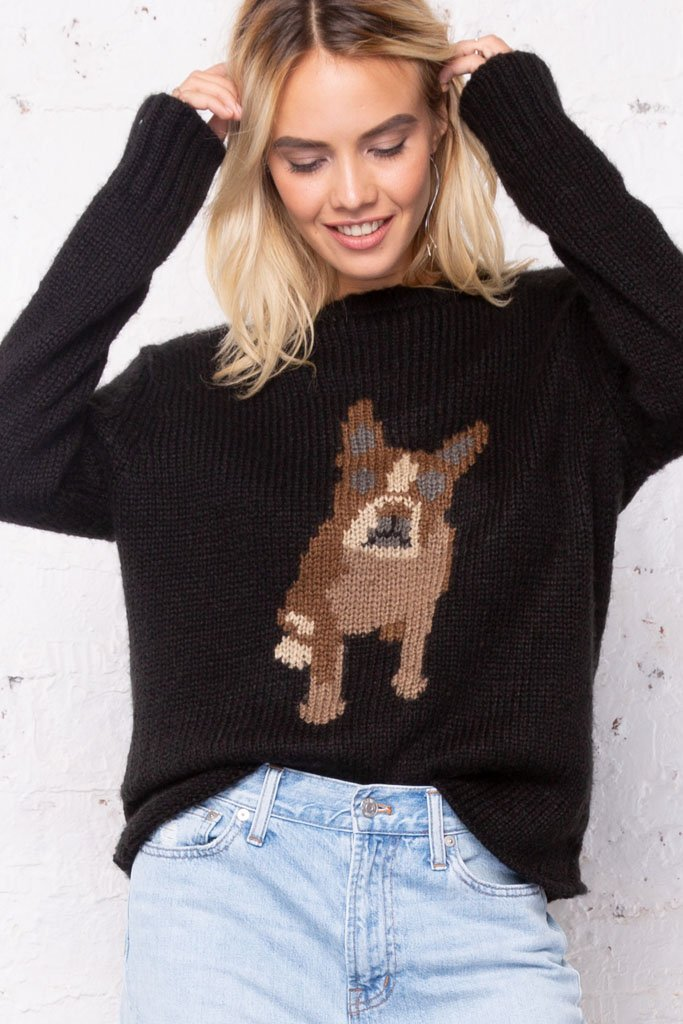 Women's Frenchie Pullover Sweater's | Wooden Ships Knits