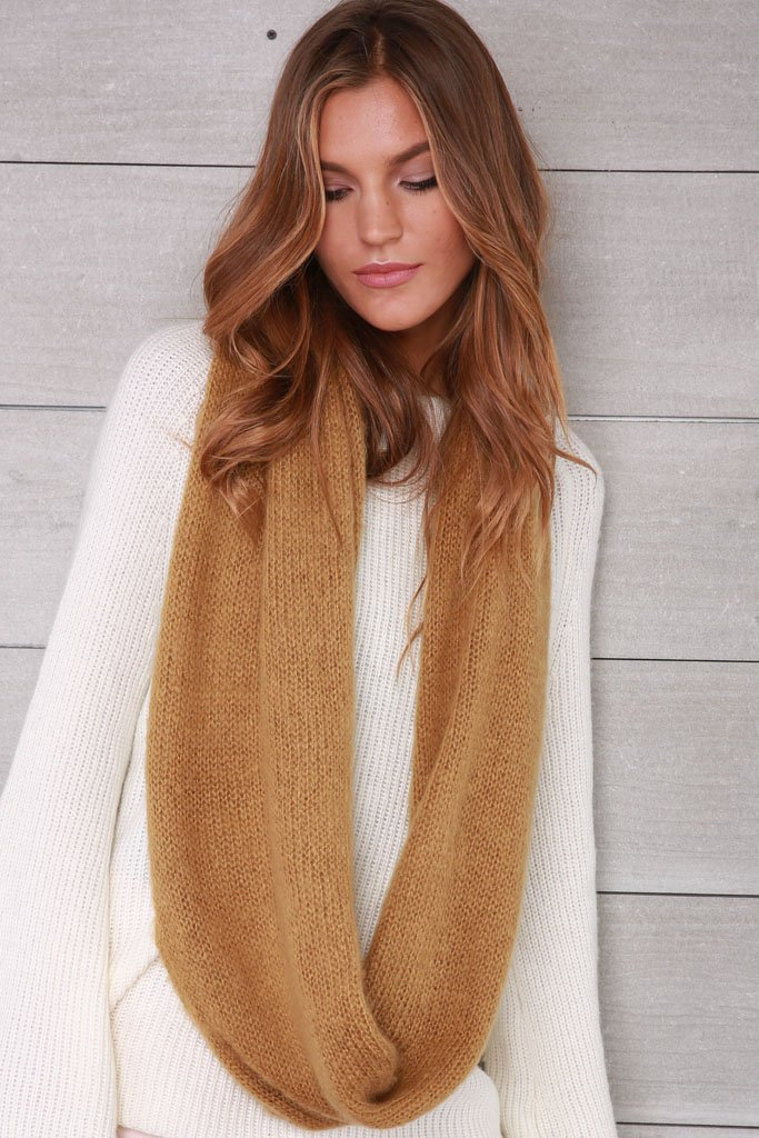 Women's Essential Eternity Scarf Sweater | Wooden Ships Knits