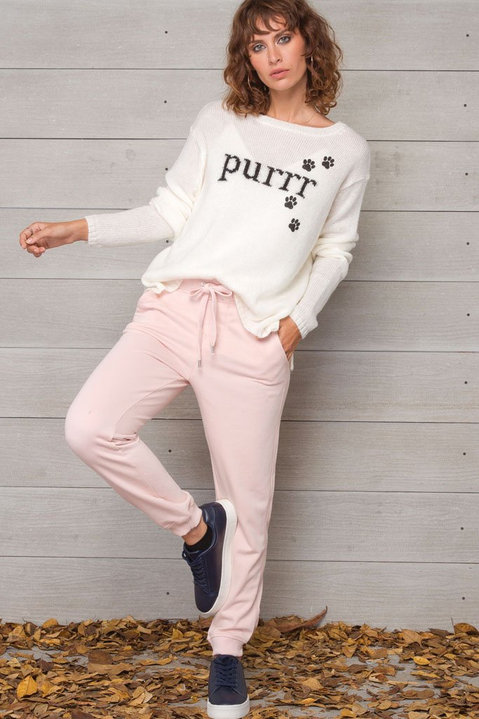 Women's Purr Crewneck Sweater's | Wooden Ships Knits