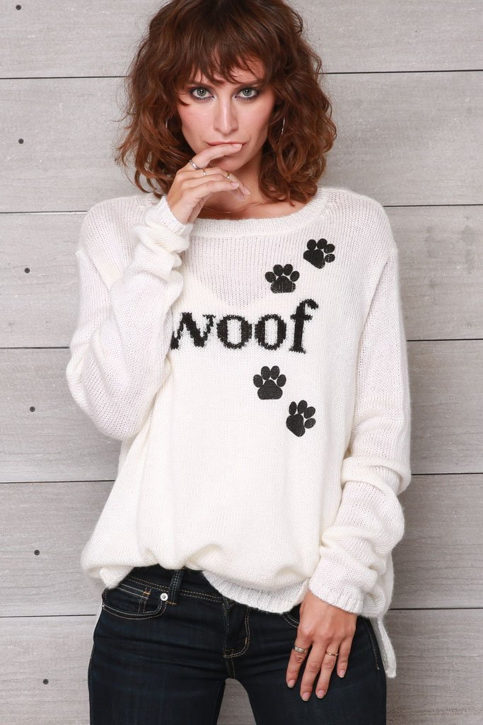 Women's Woof Crewneck Sweater's | Wooden Ships Knits