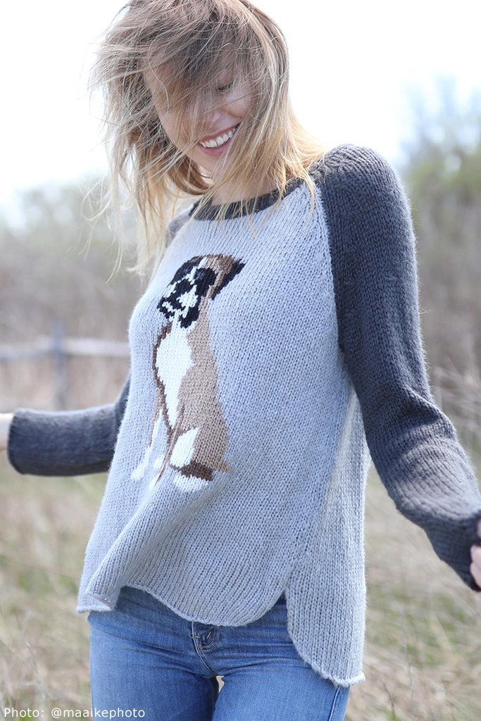Women's Boxer Raglan  Sweater's | Wooden Ships Knits