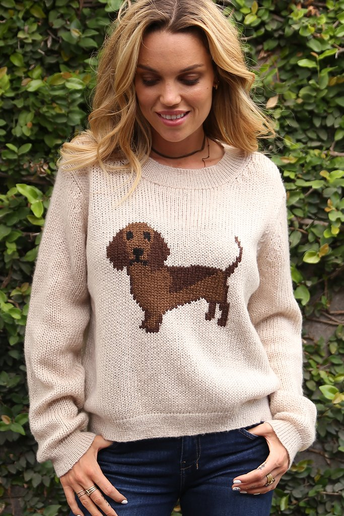 Women's Hot Dog Pullover Sweater's | Wooden Ships Knits