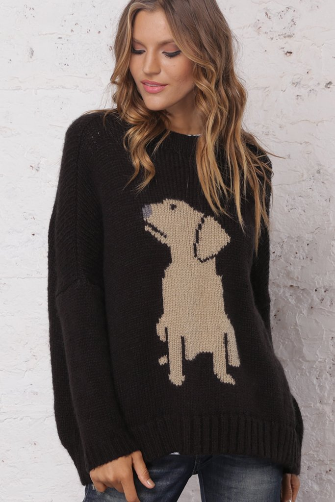 Women's Labrador Pullover Chunky Sweater's | Wooden Ships Knits