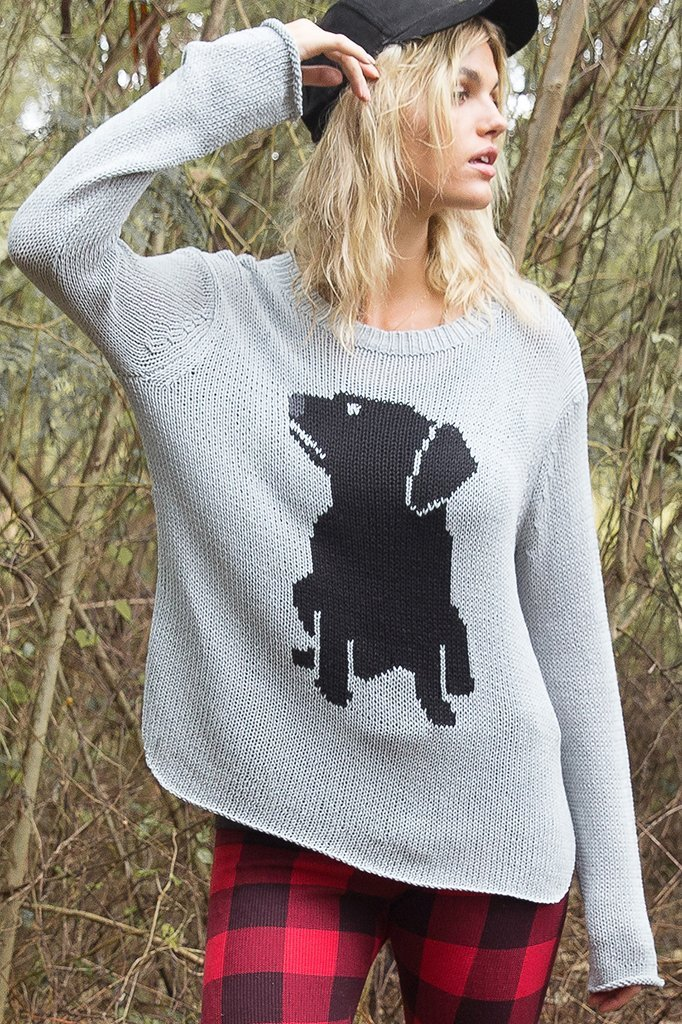 Women's Labrador Pullover Cotton Sweater's | Wooden Ships Knits