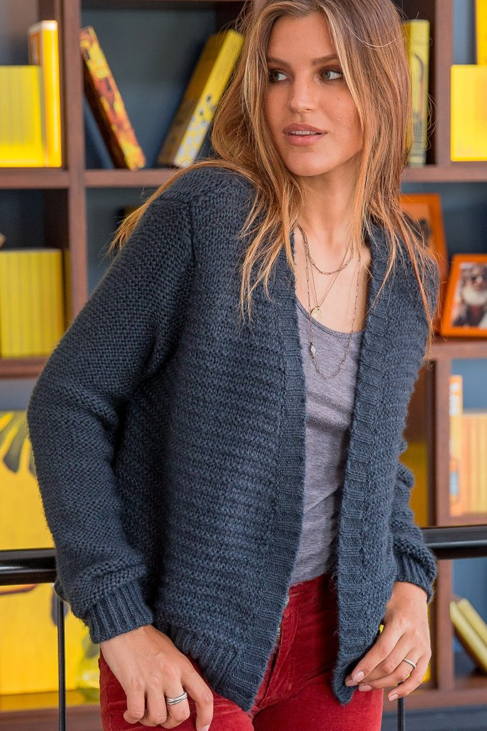 Women's Romy Cardi Sweater's | Wooden Ships Knits