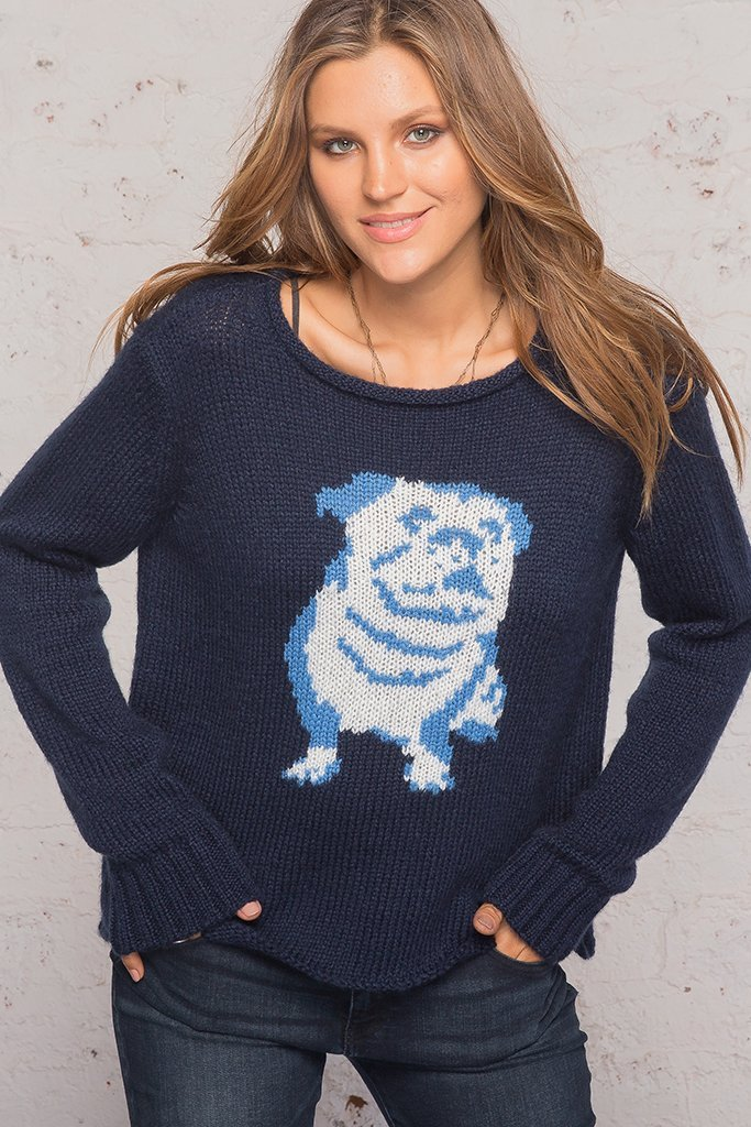 Women's Bulldog Rollneck Sweater's | Wooden Ships Knits
