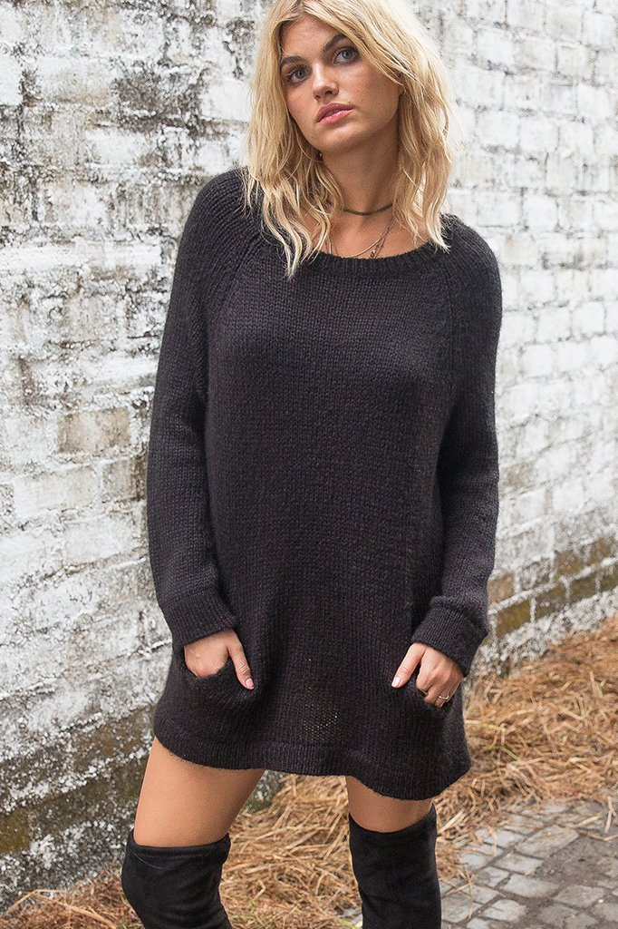 Women's Whitney Pocket Tunic Sweater's | Wooden Ships Knits