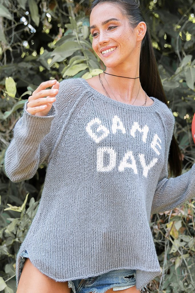 Women's Game Day Raglan Lightweight Sweater's | Wooden Ships Knits