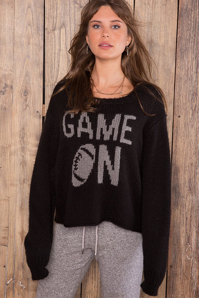Women's Game On Crew Chunky  Sweater's | Wooden Ships Knits