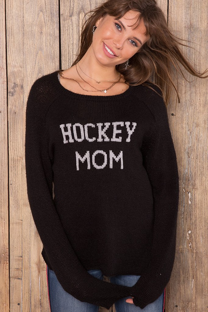 Women's Hockey Mom Lightweight Sweater's | Wooden Ships Knits