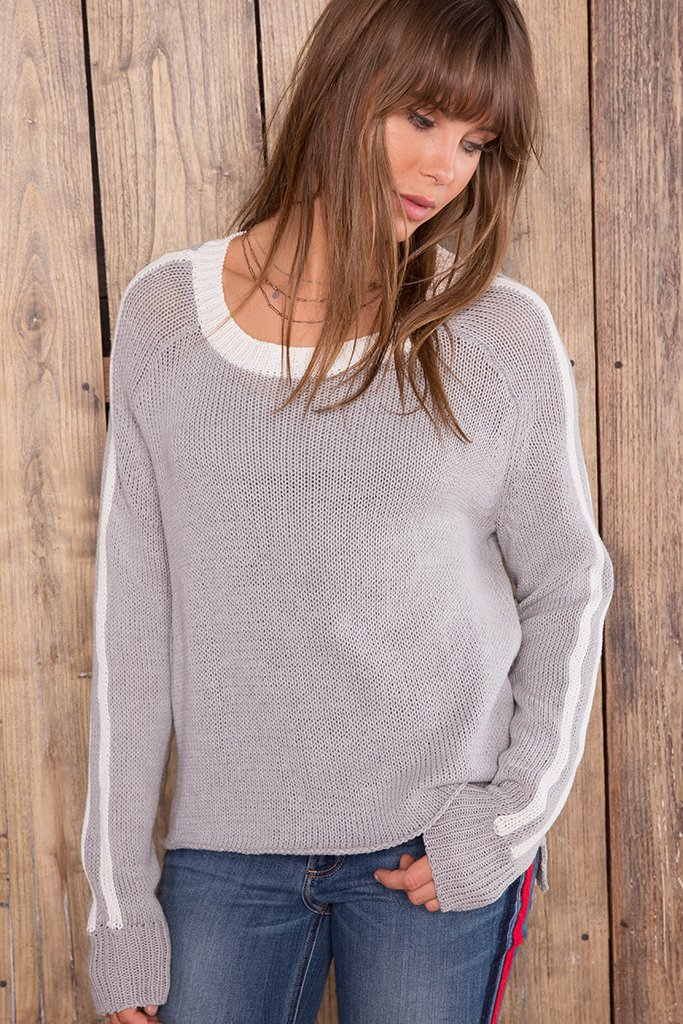 Women's Sidney Crewneck Cotton  Sweater's | Wooden Ships Knits