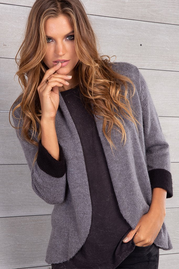 Women's Cuffed Blazer  Sweater's | Wooden Ships Knits