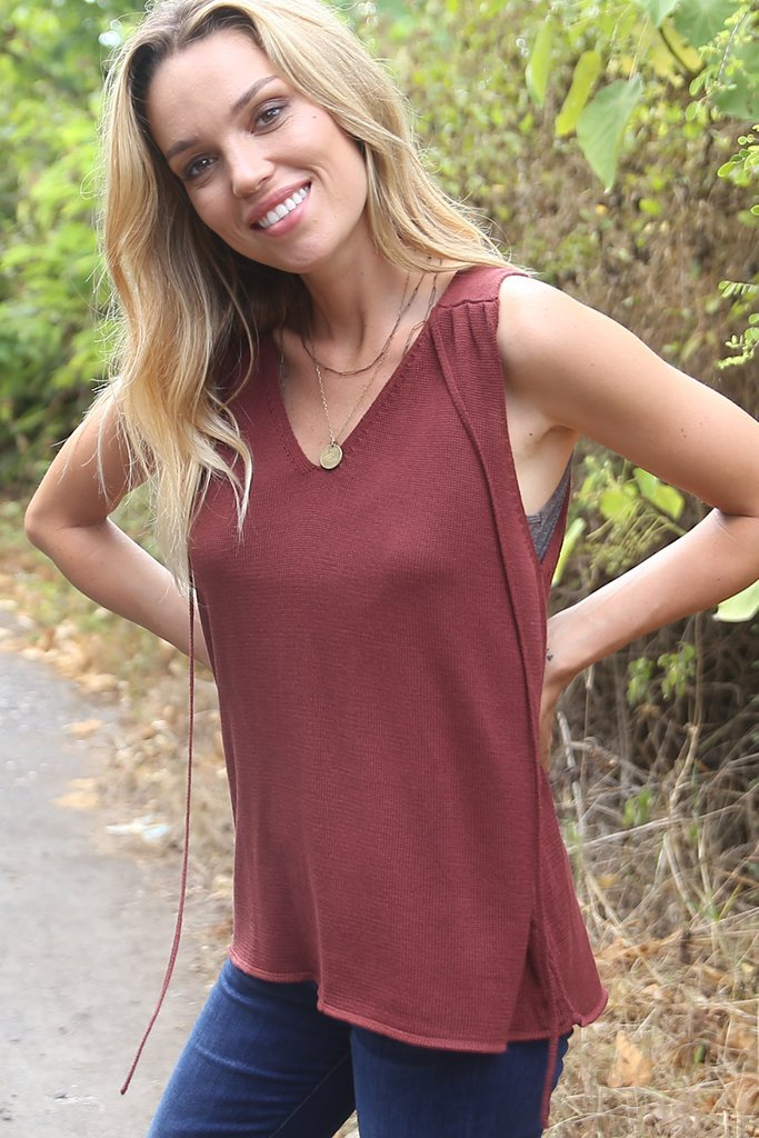 Women's Gypsy Tank Mercer Sweater's | Wooden Ships Knits