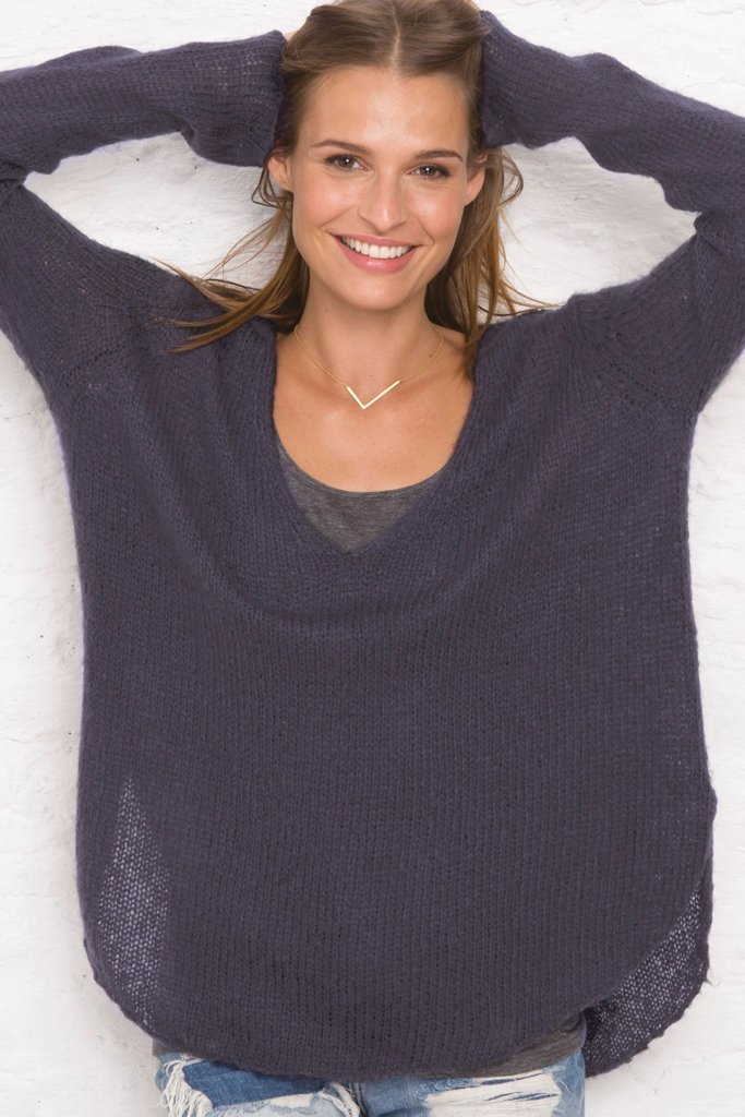 Women's Shirt Tails V  Lightweight Sweater's | Wooden Ships Knits