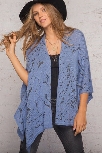 *SALE* - SPLATTER CARDIGAN