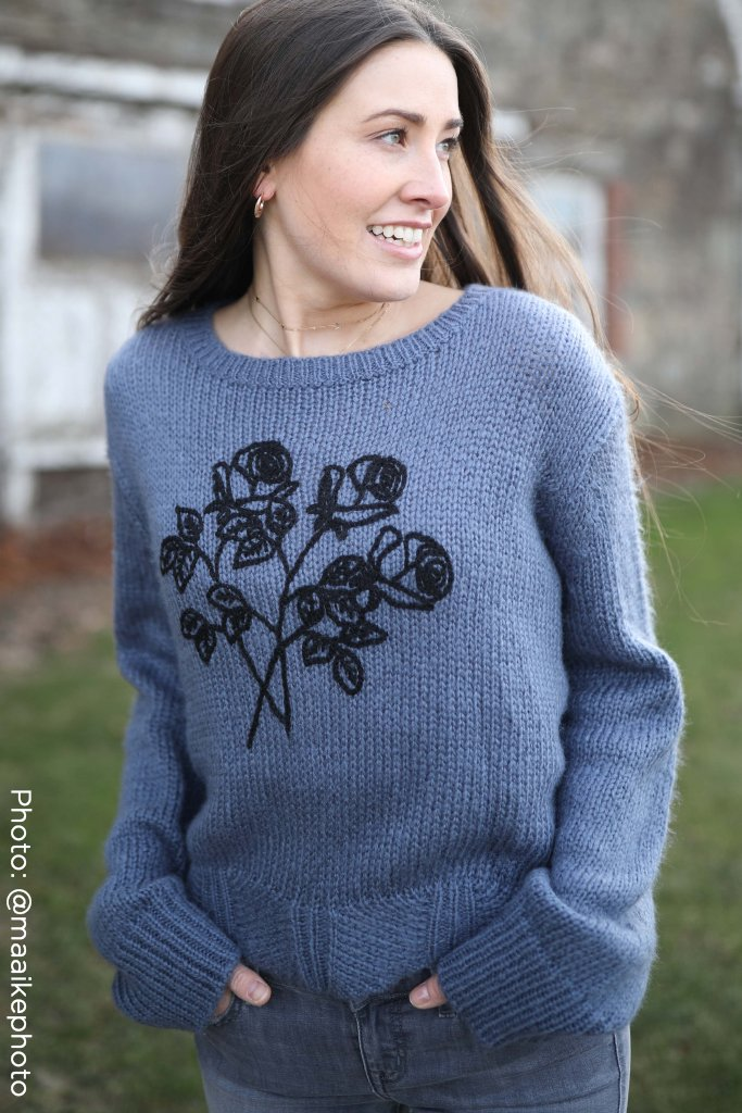 Women's Weekend Slouchy Pullover  Sweater's | Wooden Ships Knits