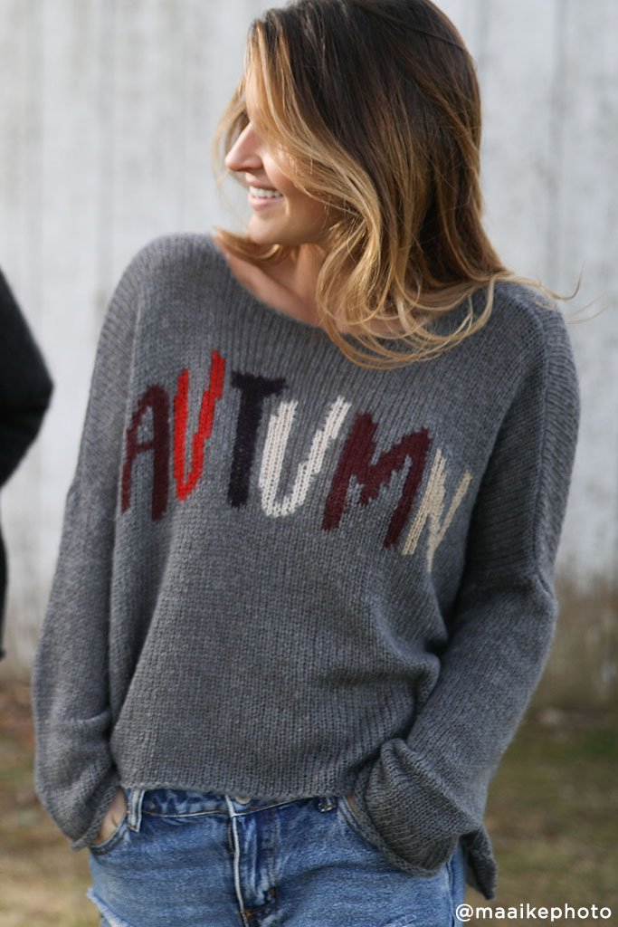 Women's Autumn Pullover Sweater's | Wooden Ships Knits
