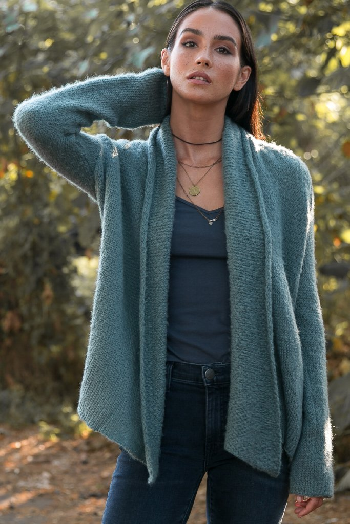 Women's Cozy Wrap  Sweater's | Wooden Ships Knits