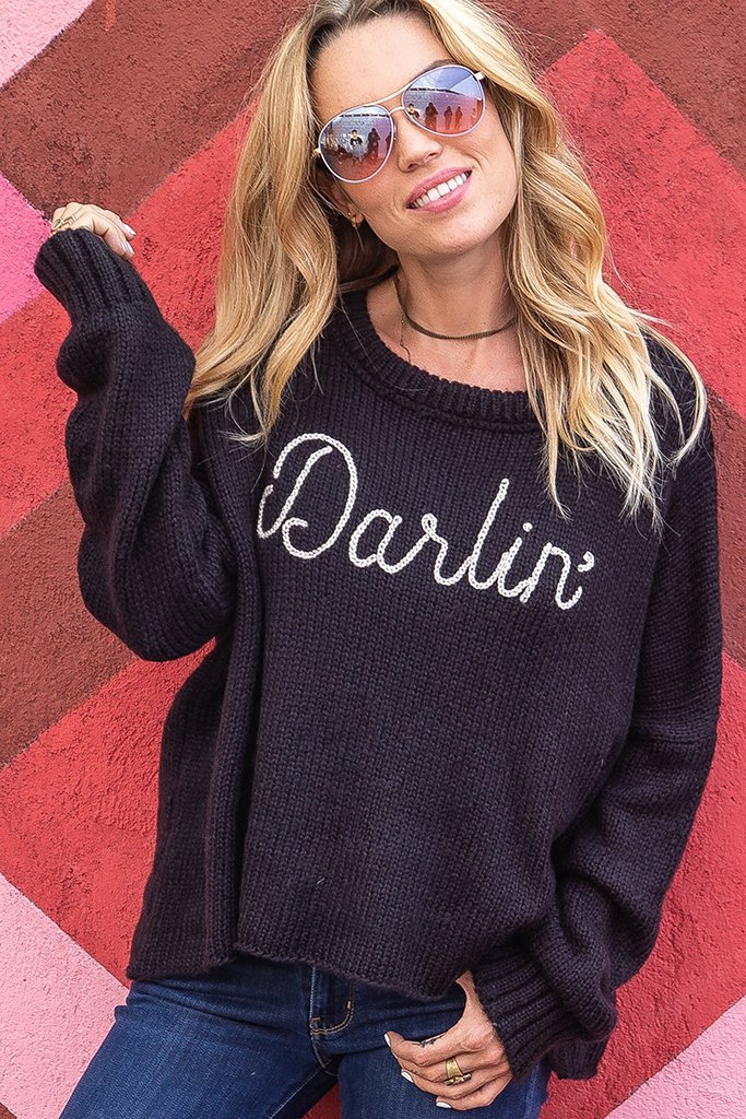 Women's Darlin Pullover Sweater's | Wooden Ships Knits