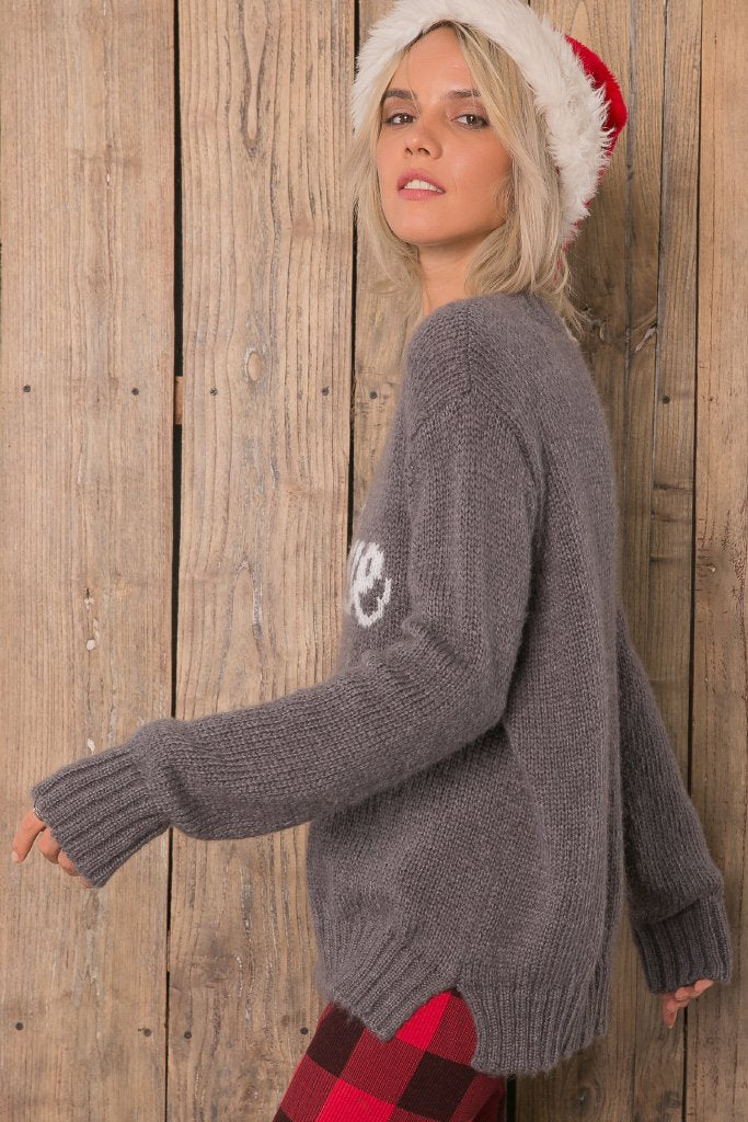 Women's Believe Pullover Sweater's | Wooden Ships Knits