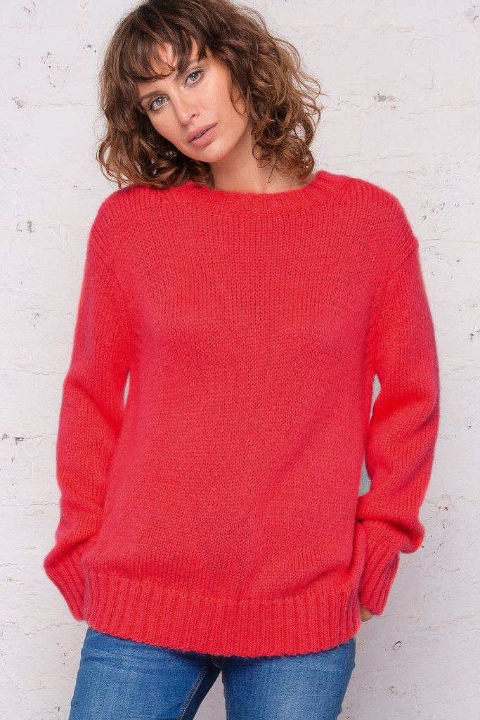 Women's Cameron Solid Crewneck Sweater's | Wooden Ships Knits