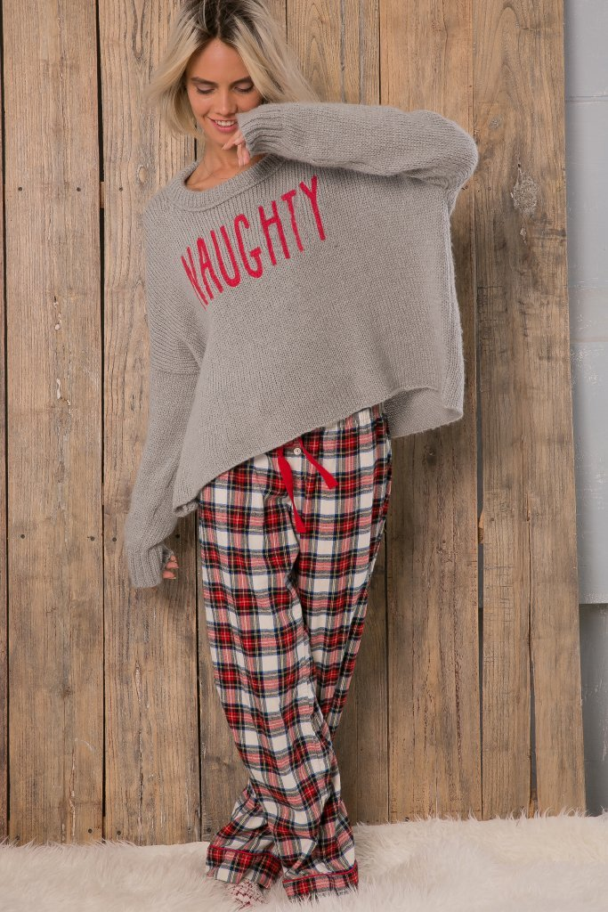 Women's Naughty Pullover Sweater's | Wooden Ships Knits