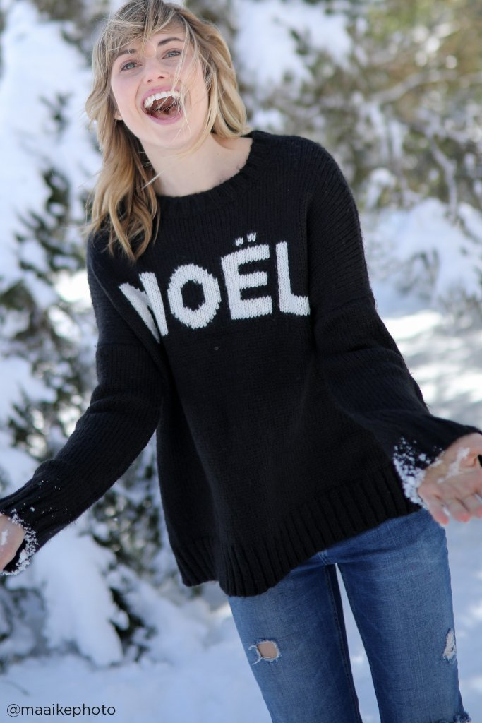 Women's Noel Boyfriend Sweater's | Wooden Ships Knits