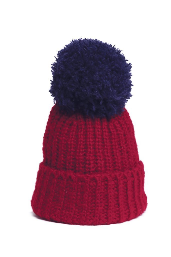 Women's Chelsea Button-Off Pom Hat Sweater's | Wooden Ships Knits