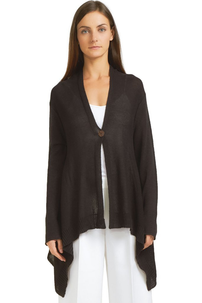 SIENNA CARDIGAN COTTON MERCER - Wooden Ships