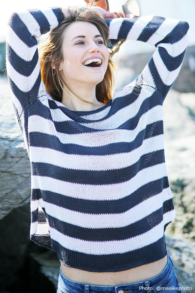 Women's Rewneck Cotton Sweater's | Wooden Ships Knits