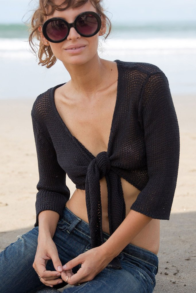 Women's Ballet Top Cotton Sweater's | Wooden Ships Knits