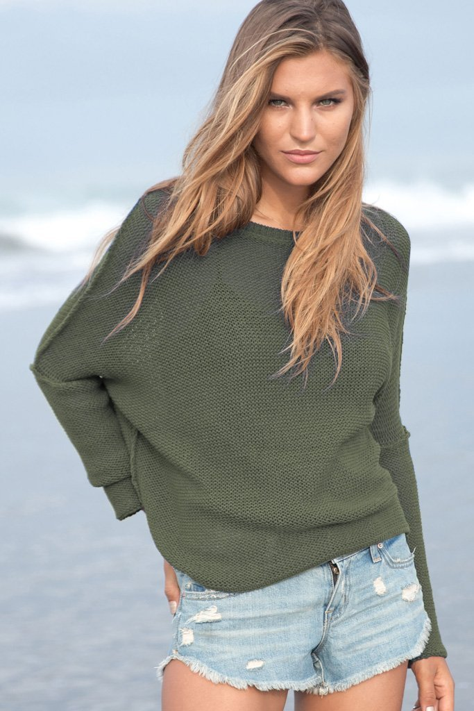 Women's Charlotte Creweck Sweater's | Wooden Ships Knits