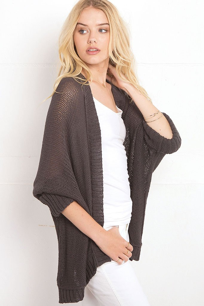 Women's Katy Kimono Cotton Cardigan | Wooden Ships Knits