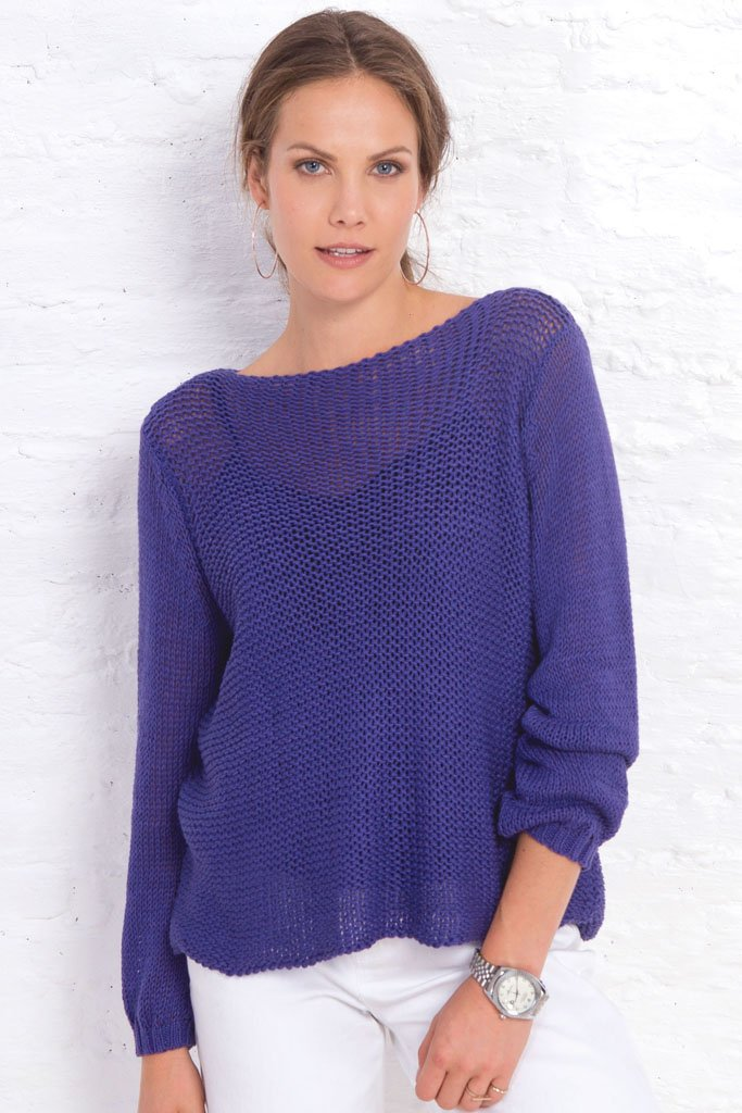 Women's Summer Bateau Cotton Sweater | Wooden Ships Knits
