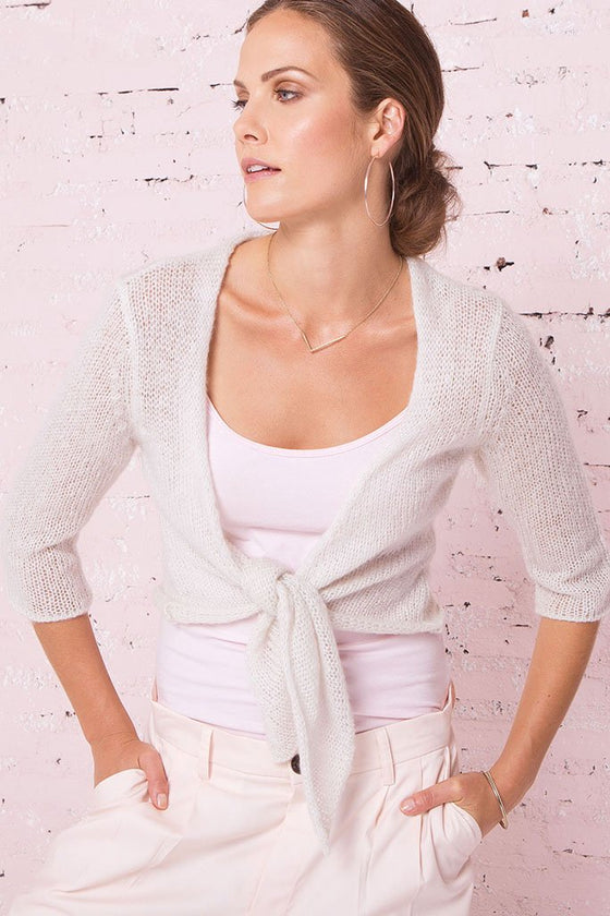 Women's Ballet Top 3/4 Sleeve Sweater | Wooden Ships Knits