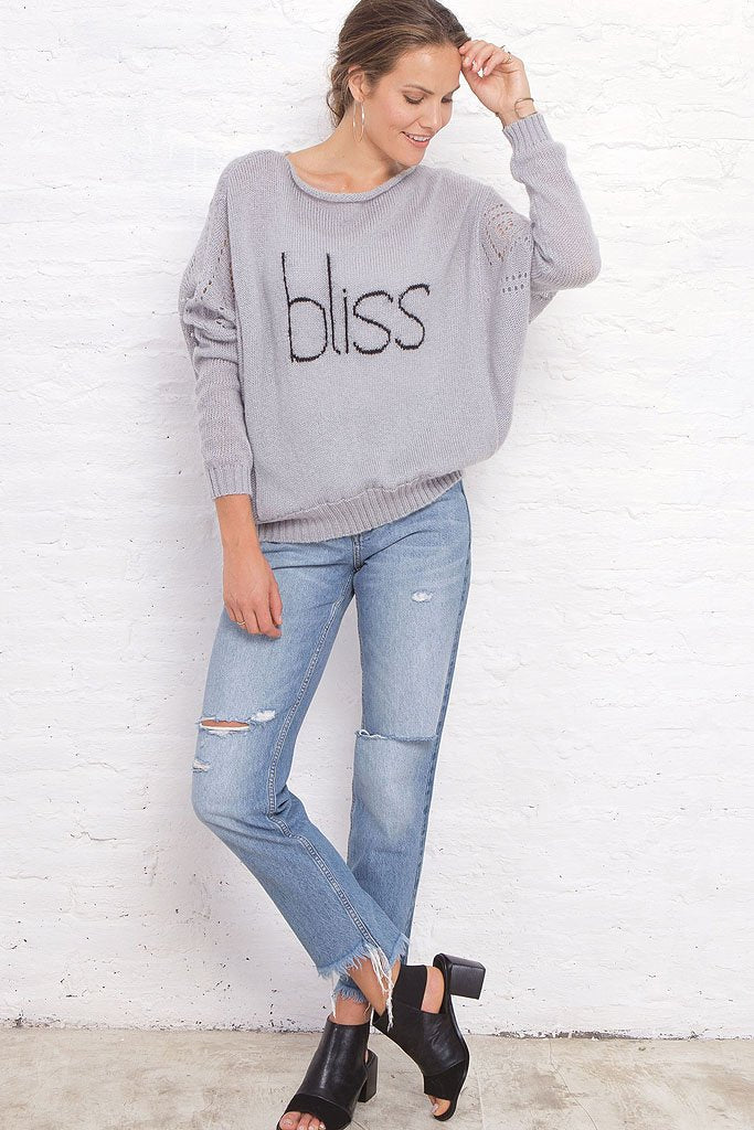 Women's Bliss Top Pullover Sweater | Wooden Ships Knits