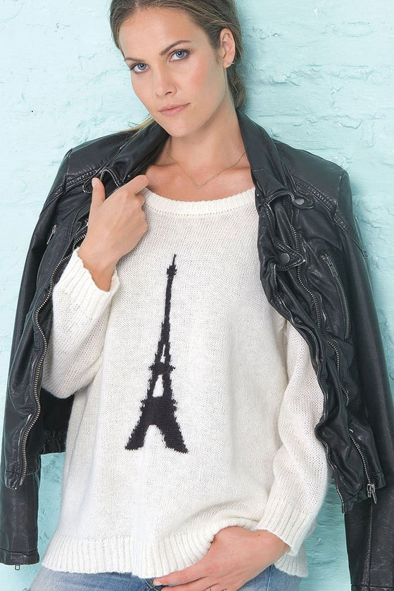 Woman's Paris Pullover Crewneck Sweater | Wooden Ships Knits