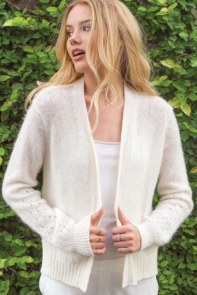 Women's Sylvie Brushed Cardigan Sweater | Wooden Ships Knits