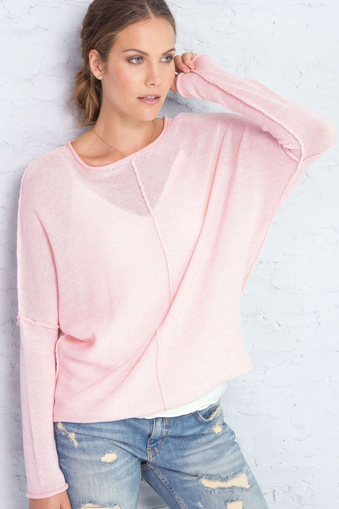 Women's Frazier Top Cotton Mercer Sweater | Wooden Ships Knits