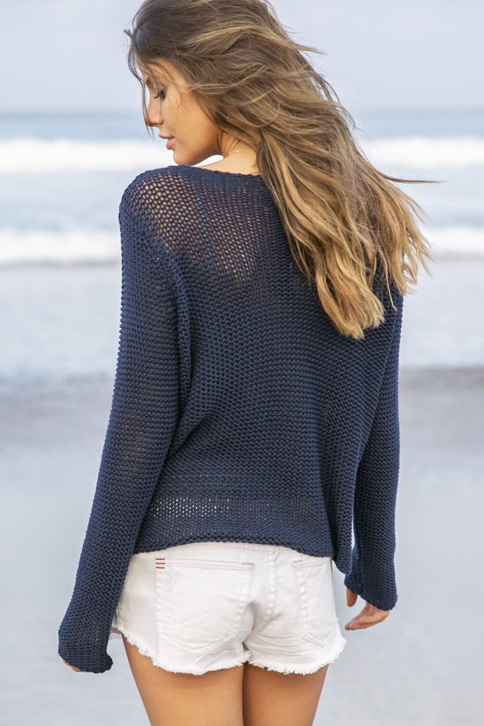 Women's Usa Bateau Cotton  Sweater's | Wooden Ships Knits