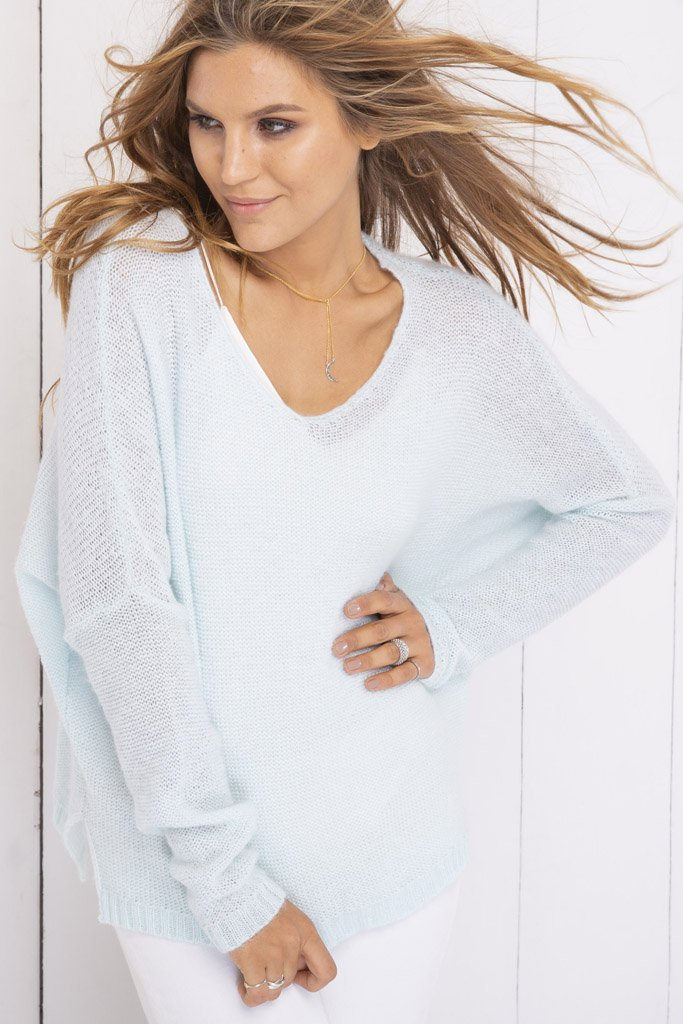 Women's Ansel V-Neck Sweater's | Wooden Ships Knits