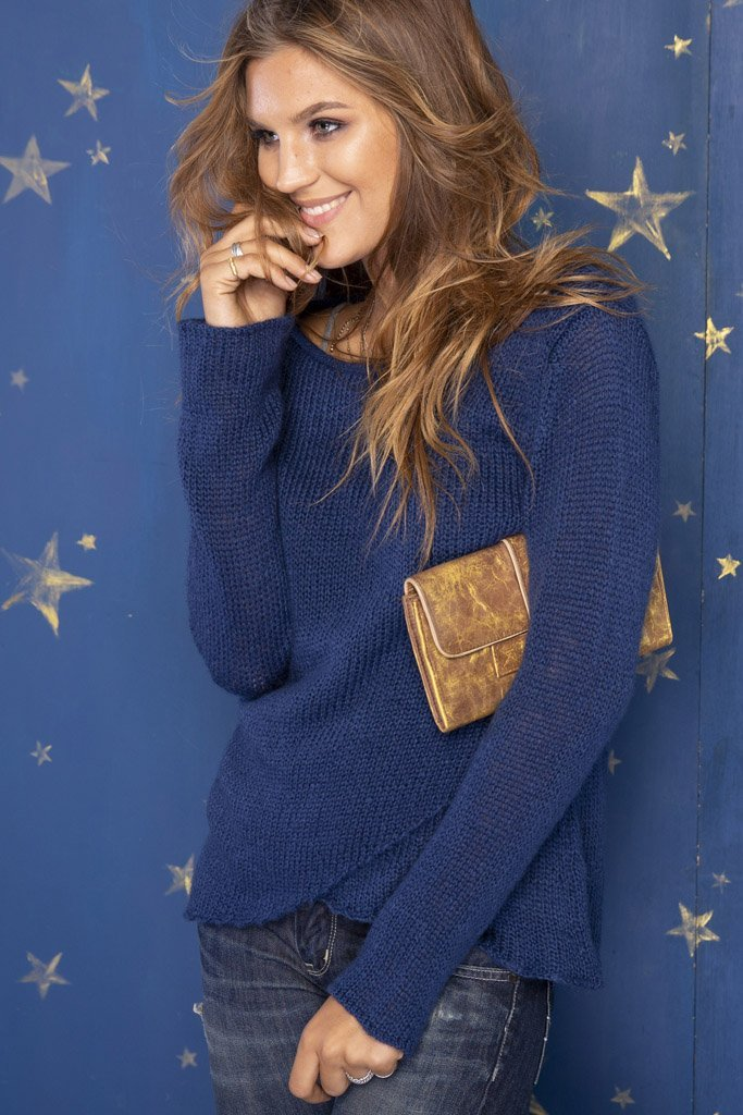 Women's Clare Crewneck Sweater's | Wooden Ships Knits