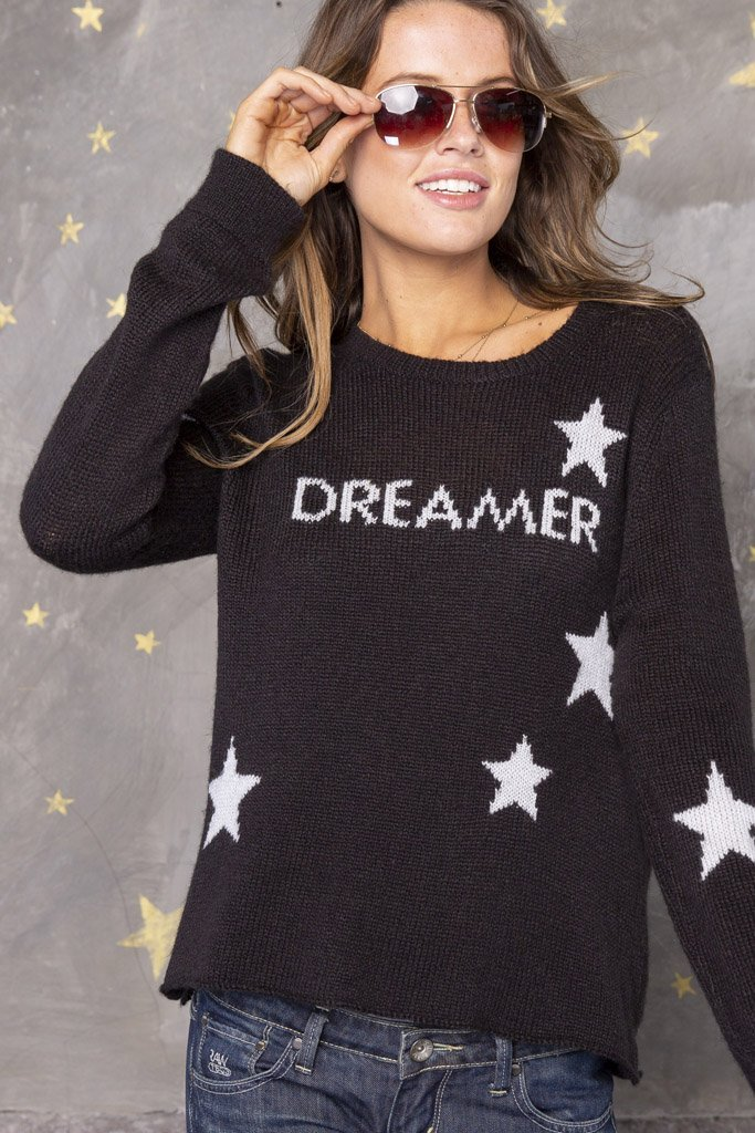 Women's Dreamer Crewneck Sweater's | Wooden Ships Knits
