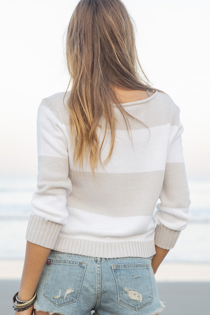 Women's Nola Crewneck Cotton Sweater's | Wooden Ships Knits
