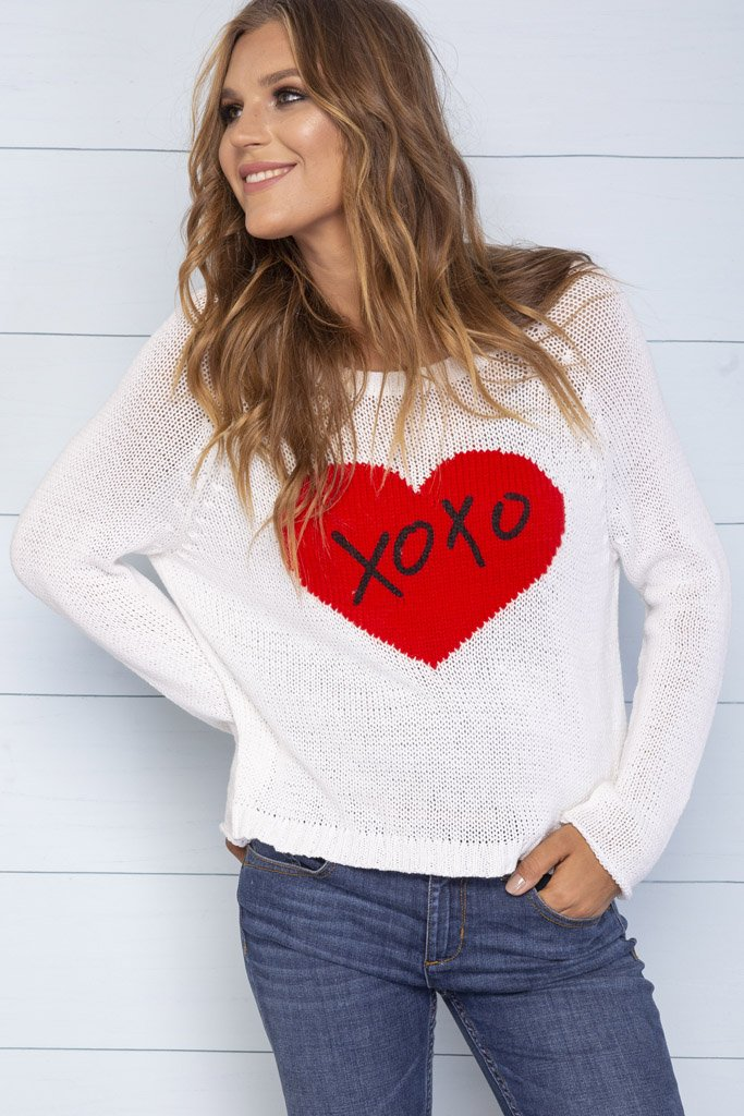 Women's Alix Crewneck Cotton Sweater's | Wooden Ships Knits