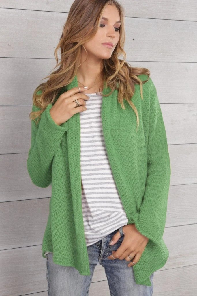 Women's Wrap Cardigan Cotton Sweater's | Wooden Ships Knits