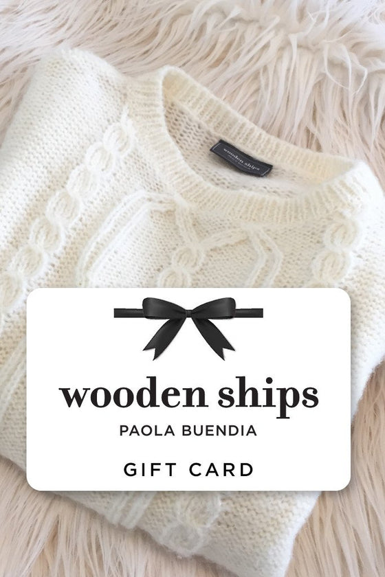Gift Card | Wooden Ships Knits